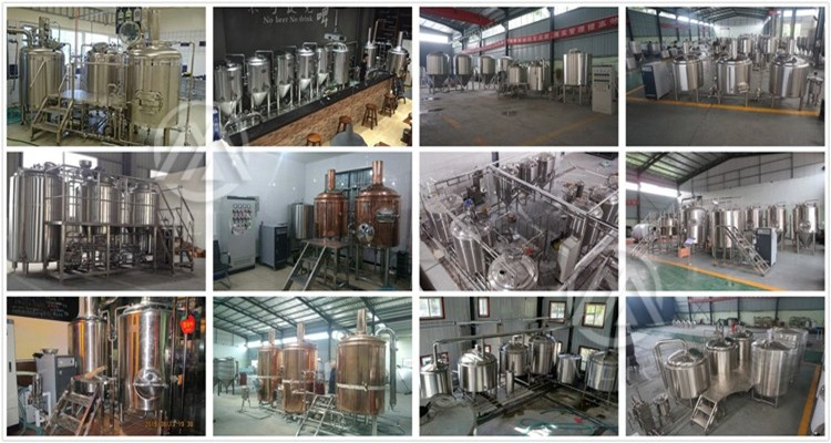 Automatic 7bbl 10bbl large beer brewhouse brewery equipment brewers supplies for sale