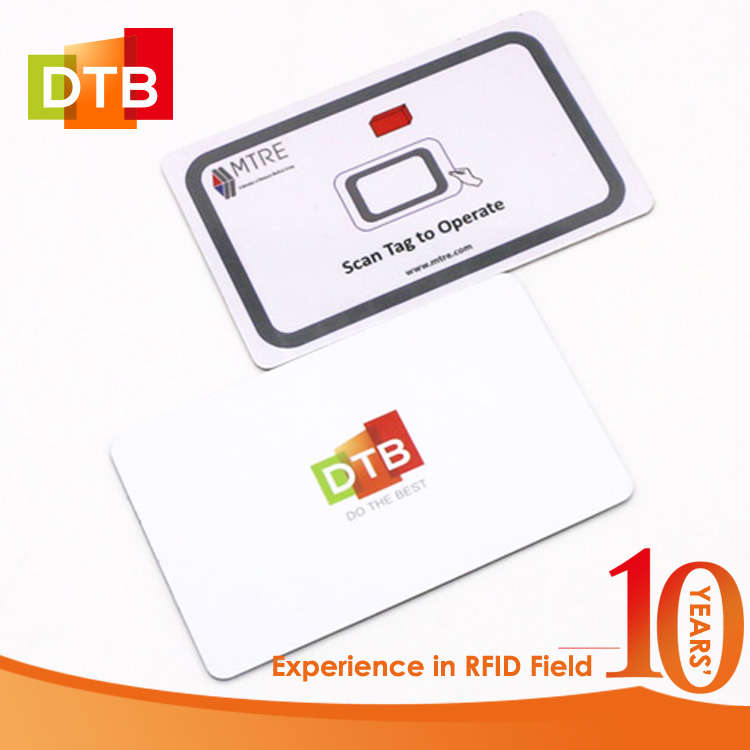 HF Access Control System RFID 13.56MHz NXP NFC Waterproof RFID Card