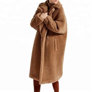 6aa6f0695995 Red Faux Fur Coat