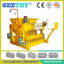 brick block machines QMY6-25 brick manufacturing machine