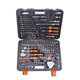 "Harden Professional Chrome Vanadium 1/2""& 3/8"" &1/4"" 120+2PCS Car Repair Hand Tool Kit for Home Use"