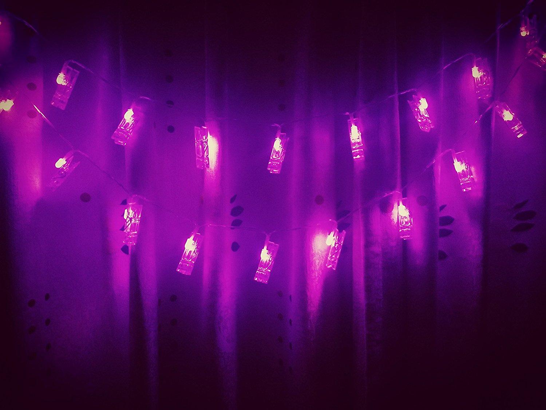 Purple Wall Lights Musmun