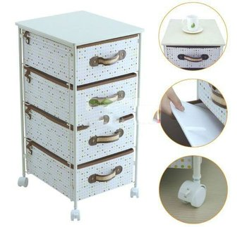 new arrival canvas rolling storage cart 3 drawers