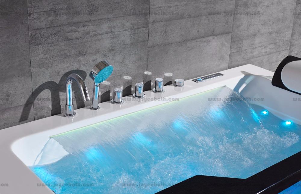 Corner Massage Hot Tub With Waterfall, Corner Massage Hot Tub With ...