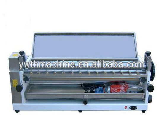 23 Inch Adjustable Speed Table Top Gluing Apply Machine