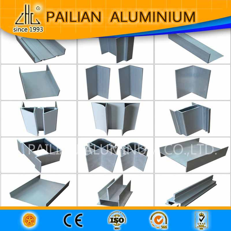 Korea Extruded Greenhouse Aluminium Profile For Clean Room
