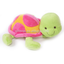 Green Adorable Stuffed Turtles Big Eyed Tortoise Stuffed Baby Toys Plush Sea Animal