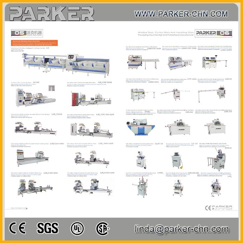 Aluminum Window Fabrication Equipment / Corner Crimping Machine ...