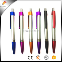 Business Gift Black Plastic Novelty Stationery Mont Blank Ballpoint Pen For Printing Promotion