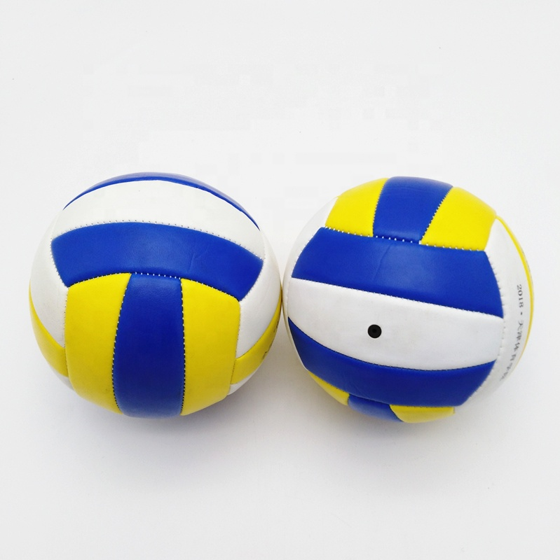 Hot Koop Mini Beach Volley Ball, Training Soft Rubber Blaas PU Maat 2 3 4 5 Stitch Volleybal