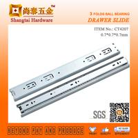 CT4207 42MM Cabinet Sliding Drawer Guides Slide Dining Table Extension Hardware