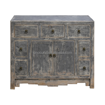 Chinese Antique Reproduction Furniture Whole Oriental Style Shabby Chic Gray Cabinet