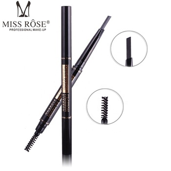 DHL  free shipping Miss Rose Makeup Miss Rose  Eyebrow pencil Double - headed hard eyebrow pencil with a brush