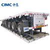 CIMC Custom-Made Container Carrier Transport Chassis Flat Bed Trailer