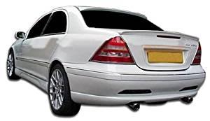 2001-2007 Mercedes C Class W203 Duraflex LR-S Side Skirts Rocker Panels - 2 Piece (Clearance)