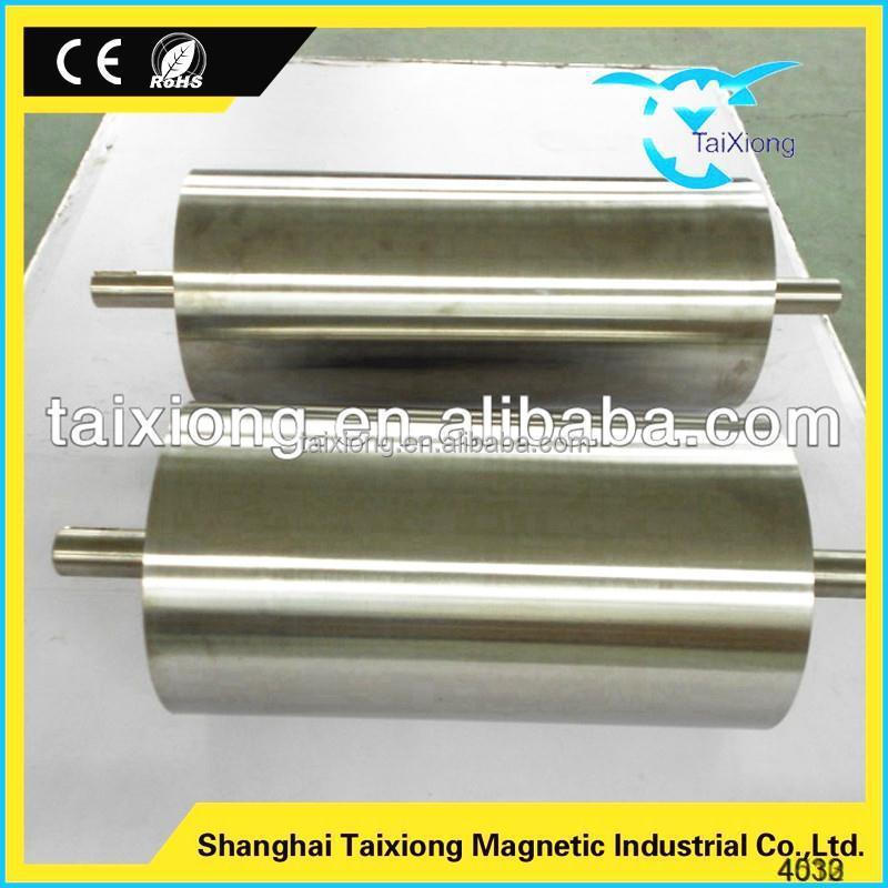 Trade assurance quality Assurance dry magnetic drum separator for conveyor belt
