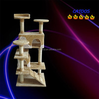 Luxury cat tree top level professional tall pet toys