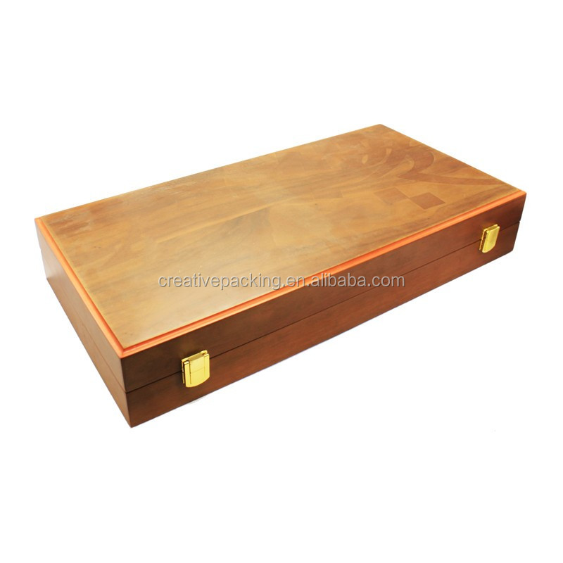 Manufacturers Selling Custom Wood Game Board Backgammon Hand Made