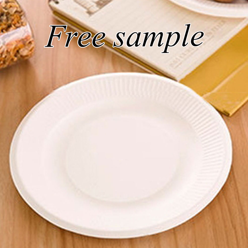 New Design High Quality Food Grade Disposable Paper <strong>Plate</strong>