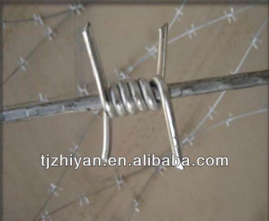 Hot sale galvanised field protection barbed wire for protection wire