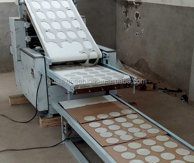 Chapati forming baking machine/Arabic pita making with baker oven