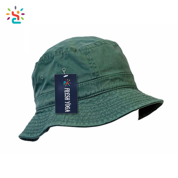 Plain denim bucket hat custom fisherman hat with eyelet air holes hats  washed cotton beach cap 6e81d3cab5b