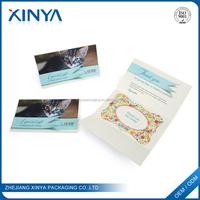 XINYA Wholesale Recycle Handwork Paper Art Greeting Card Custom Printed Post Card