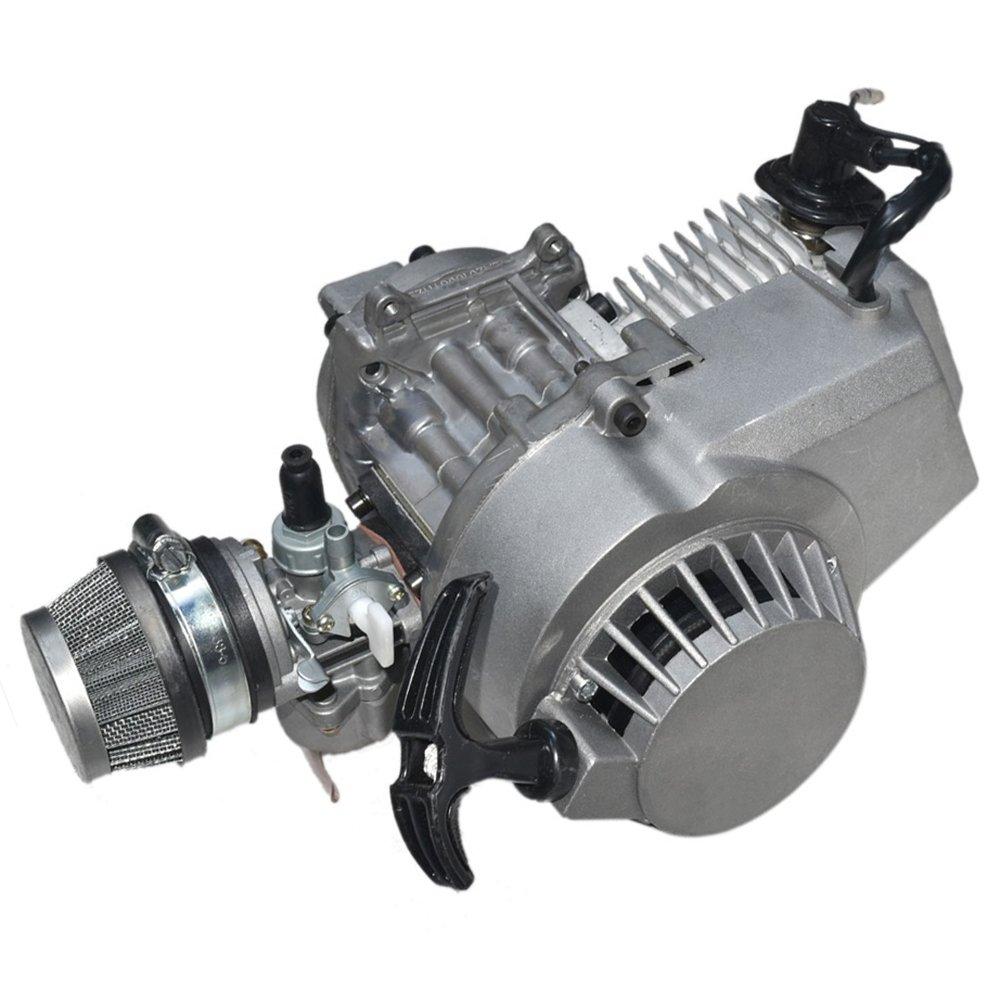 Buy JCMOTO 49cc 2 Stroke Engine Motor For Mini Pocket Bike Scooter