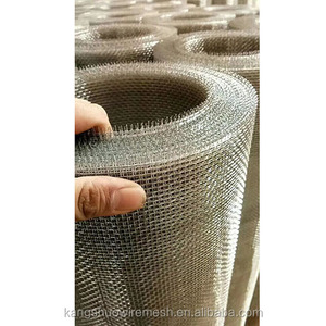 30 40 mesh FeCrAl woven wire mesh fireproof mesh for fireplace screen