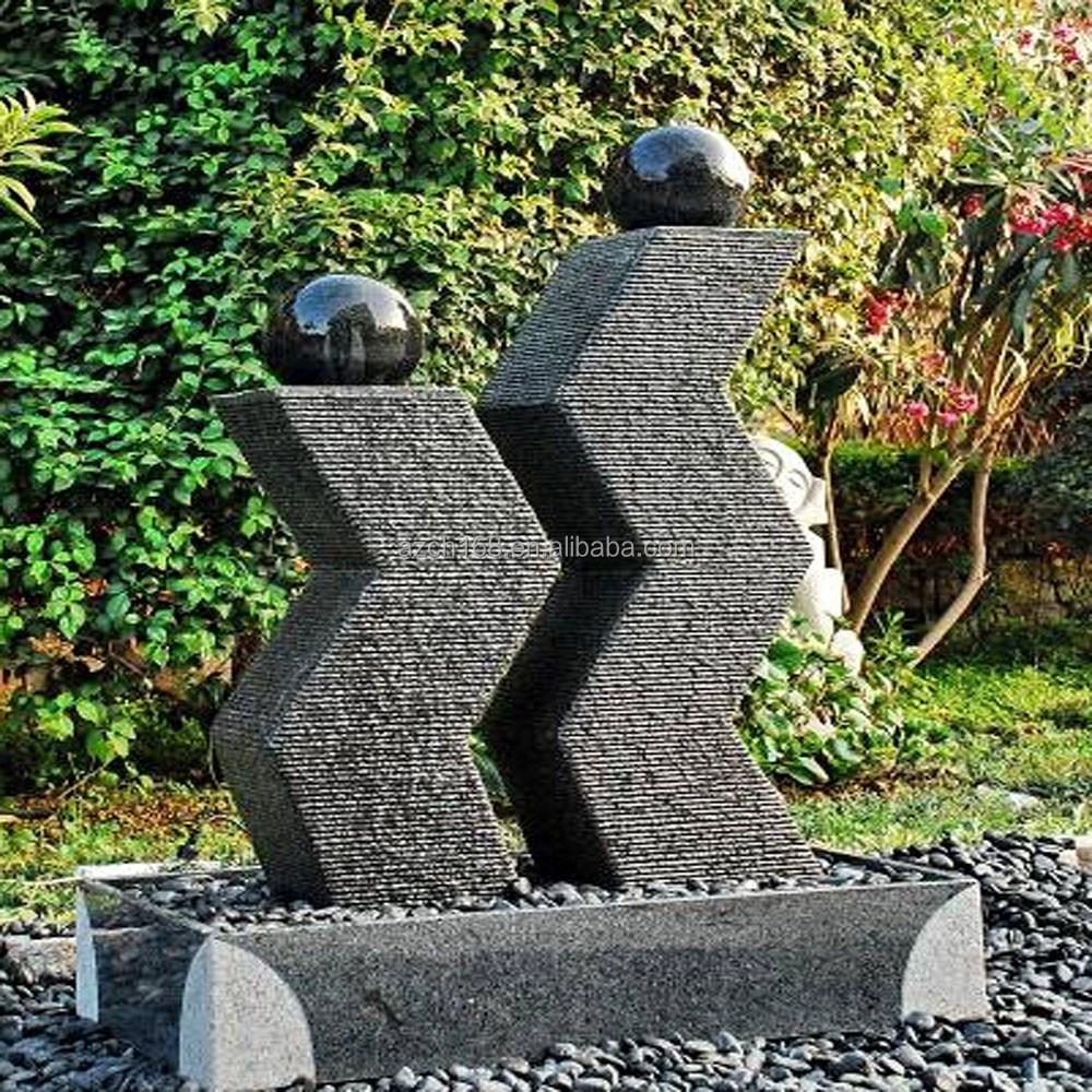 Moderne kunst tuin fonteinen tuin fontein voor huis en tuin decoratie stenen tuin producten - Decoratie stenen tuin ...