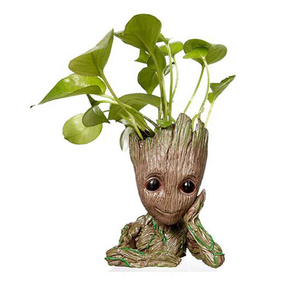 Amazon Hot Sale Guardians of the Galaxy 2 Figure Models Baby Groot Pot