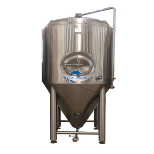 Provide home after - sales installation 1000L Stainless steel beer fermenter for non alcoholic beer