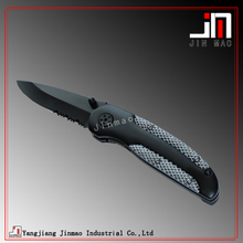 Lama Piegante tattica <span class=keywords><strong>Finitura</strong></span> Nera Dritto Bordo Pocket Knife