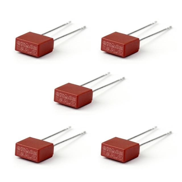 Topteng TR5 Fusible miniature pour s/érie 392 Solid State Carr/é Corps Fusible 250 V 2 A 1 2A-5P