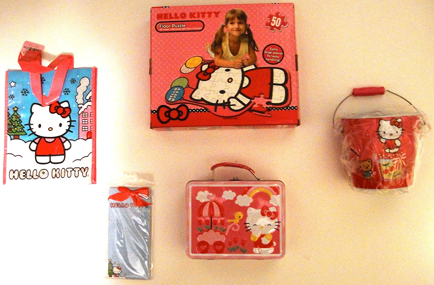 Hello Kitty 5 Pc Puzzle Set
