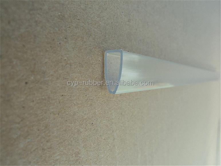 Di plastica trasparente in pvc estrusione di profili per libro di carta buy profilo in pvc - Profili in plastica per piastrelle ...