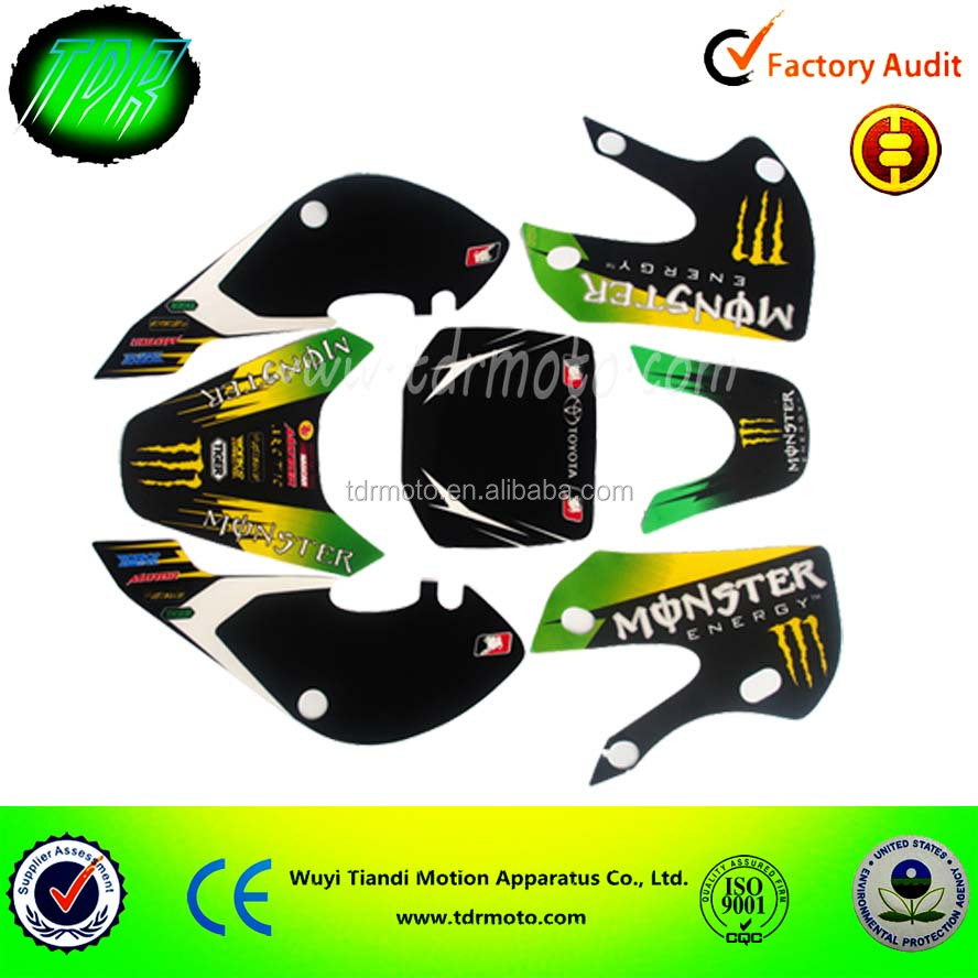Design a bike sticker - Motorcycle Decorative Stickers Dirt Bike Sticker Design Motorcycle Parts And Accessories Dirt Bike Parts Graphic Sticker Buy Dirt Bike Graphic Sticker