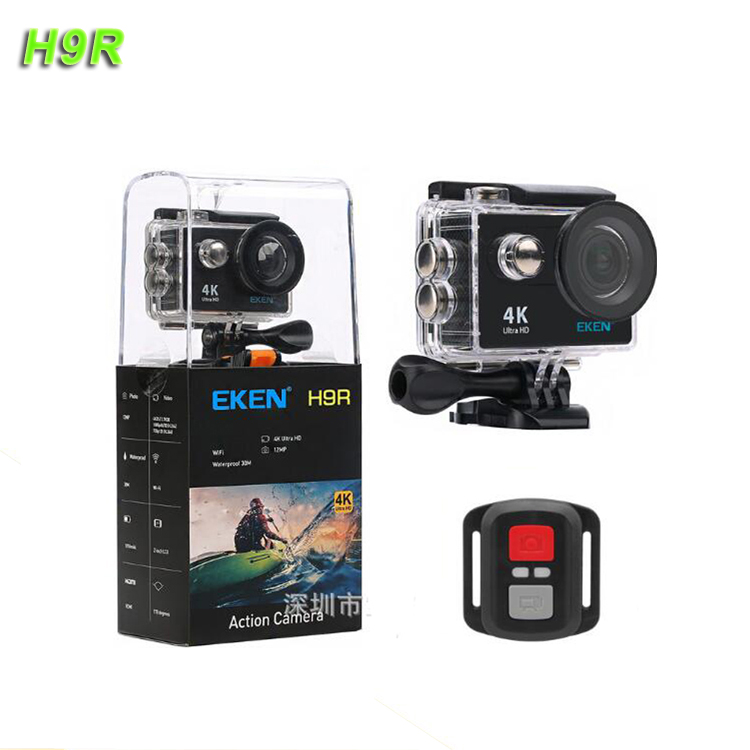 Hot H.264 Full Hd 1080P Car Remote Control Video Low Cost Full Accessories Sports Eken H9R Action