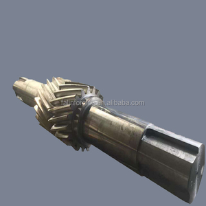 Machining carbon steel motor extension shaft speed reducer
