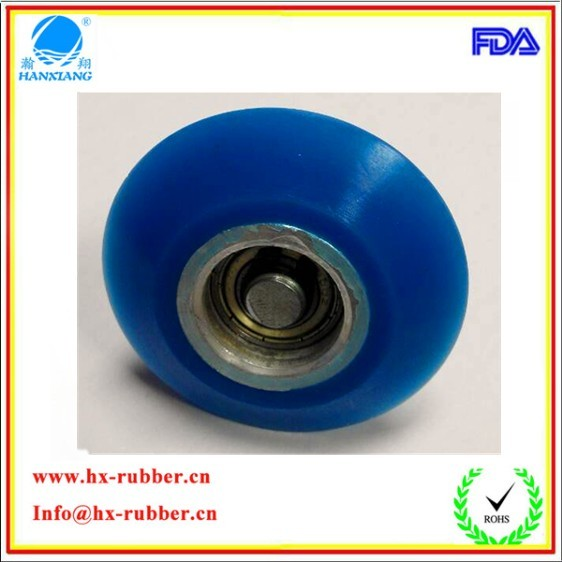 blue rubber wheel 1