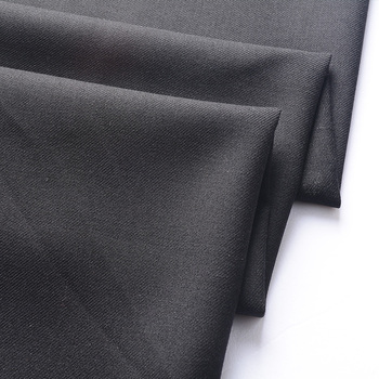 High quality polyester viscose elastane suit fabric
