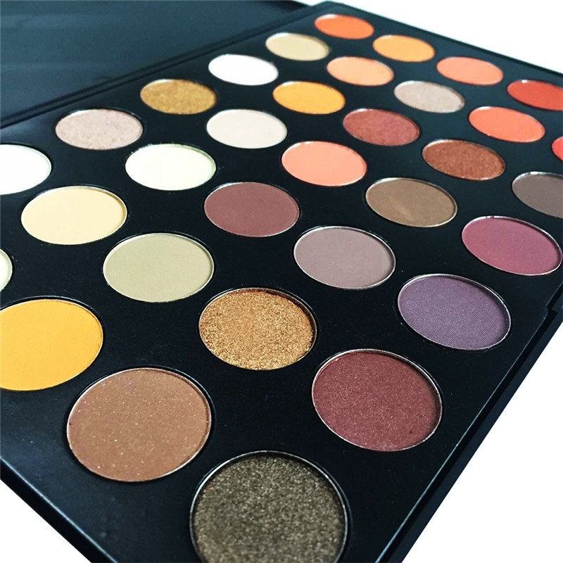Professional 35 Color Cheap Eyeshadow Palette Colorful ...