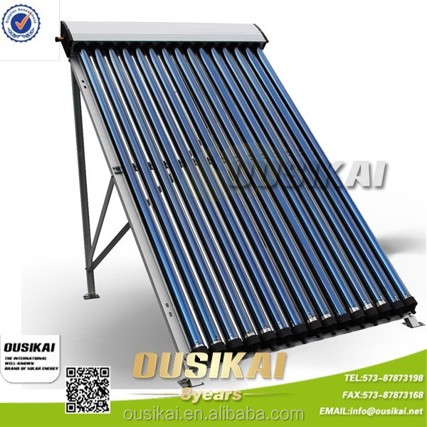Ousikai Pressurized Solar Water Heater Collector With Super Heat Pipe OS-HP-15