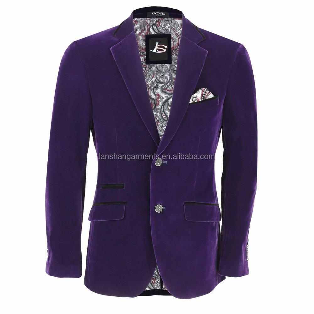 purple wedding men suit for 3 piece buy wedding suits