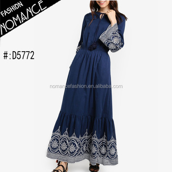 140ec9357bd Embroidered Mexican Maxi Dress - Buy Embroidered Dress ...