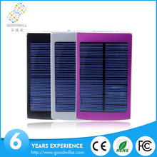 2016 hot sale products Solar power bank, mobile solar charger, solar mobile phone power bank 8000mAh