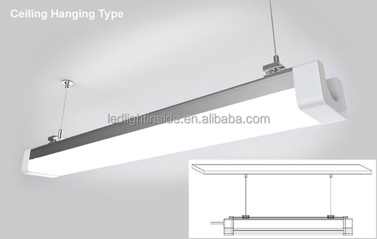 Tri proof Lamp,Fixture/LED Fluorescent Lighting Fixture T5 Series