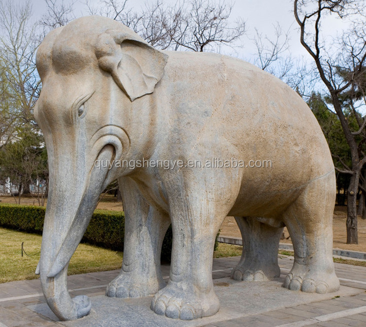 Stone Elephant Garden Statues, Stone Elephant Garden Statues Suppliers And  Manufacturers At Alibaba.com