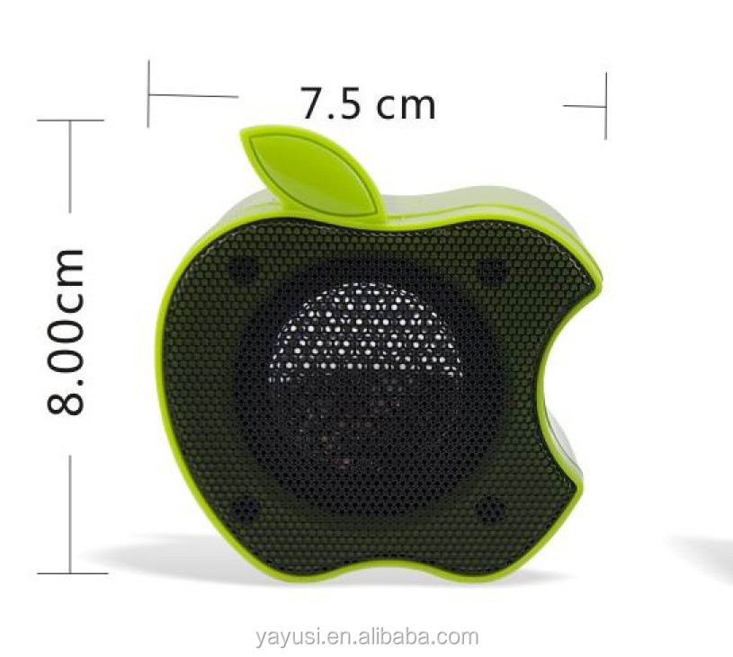 Famous Fruit Shaped Speaker For Computer