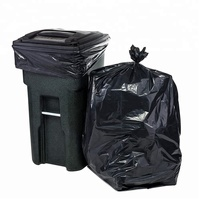 Heavy Duty 42 Gallon 3 Mil LDPE Black Contractor Trash Bags